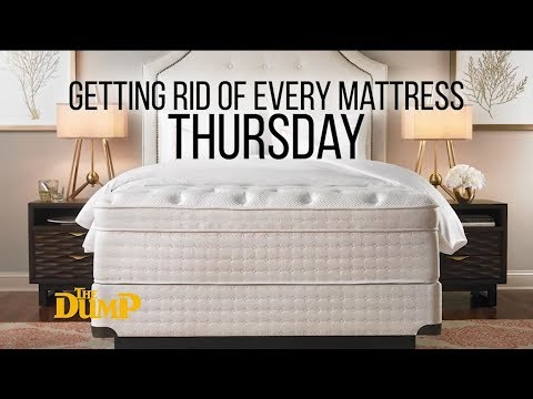 Getting Rid of Every Mattress We Own