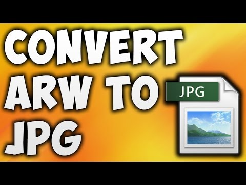 How To Convert ARW To JPG Online - Best ARW To JPG Converter Online [BEGINNER'S TUTORIAL]
