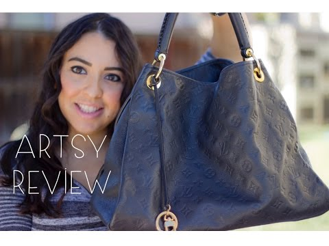 Louis Vuitton Empreinte Artsy Mm Review Wear Tear Blush Hour