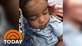 United Airlines Gives Toddler's Seat To Standby Passenger | TODAY