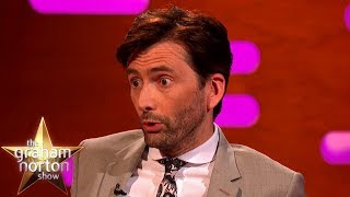 David Tennant's Wife Is The Daughter Of Dr Who!   The Graham Norton Show
