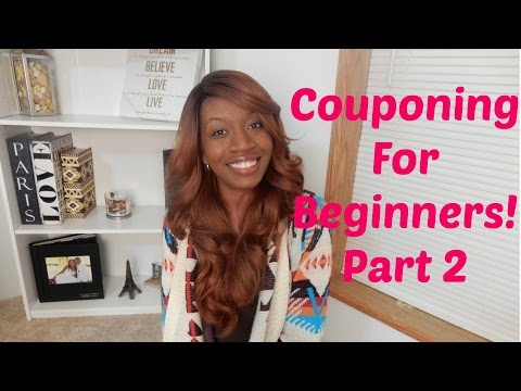 Couponing For Beginners! Part 2