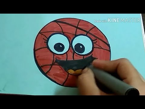 How to draw a Cute Basketball (Circle, Round)Simple & Easy Art Tutorial for kids |by The Arts Center
