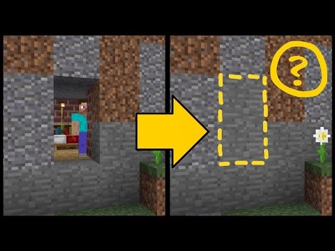 ✔️SECRET DOORS! // Minecraft Pocket Edition resource pack! [MCPE 1.0.2]