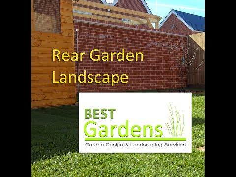 Rear Garden Landscape