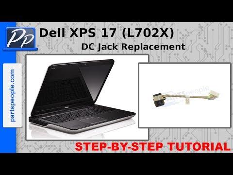 Dell XPS 17 (L702X) DC Jack Replacement Video Tutorial Teardown