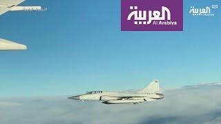 طائرات مقاتلة ترافق محمد بن سلمان أثناء دخوله باكستان