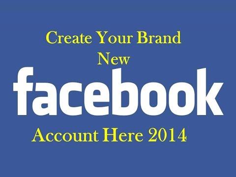 How to Create facebook account 2014 |Facebook Sign up|Facebook Log in |Facebook registration|