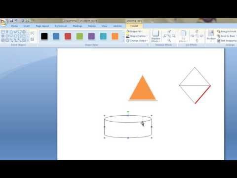 How to Draw Flow Chart Symbols in MS Word