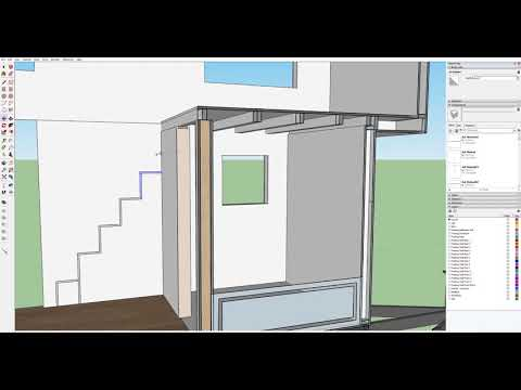 Part 8   Designing a Tiny House in Sketchup