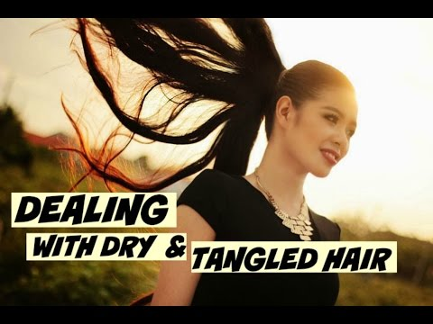 5 Ways to Deal With Dry and Tangled-Hair How To Have Manageable Hair-Beautyklove