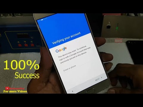 Gmail Account Verification Remove Samsung Galaxy A7 || Galaxy A8 all Samsung