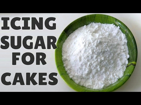 Icing Sugar Recipe In Hindi | Confectioners Sugar |Icing Sugar Recipe for Cakes। Cake Recipe