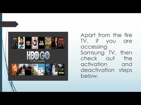 How To Activate HBO GO On Amazon Fire TV