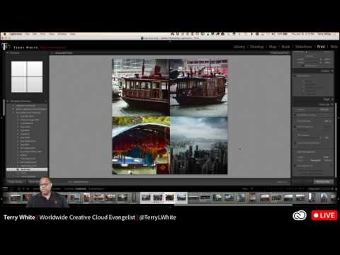 How To Create Custom Print and Social Media Templates in Lightroom CC