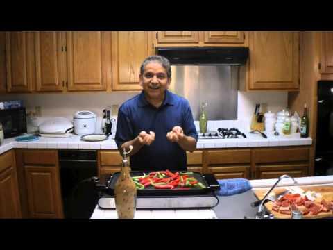 Cooking Fajitas (Beef Fajitas)