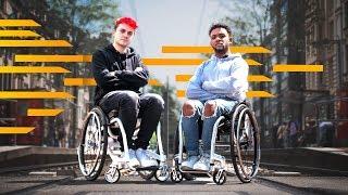 Ich sitze jetzt im Rollstuhl
