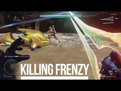Halo 5: GamePlay   Killing Frenzy   Big Team Super Fiesta - Scavenger   best wingman ever