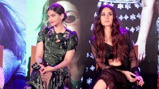 Sonam Kapoor Shows ATTITUDE After Marriage At Veere Di Wedding Song Launch