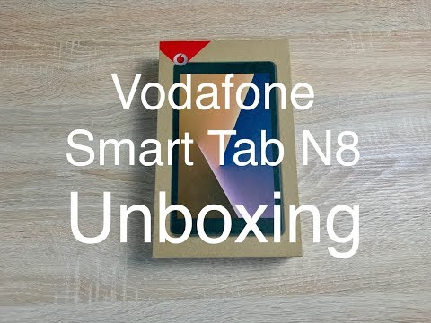 Vodafone Smart Tab N8 Unboxing & Setup