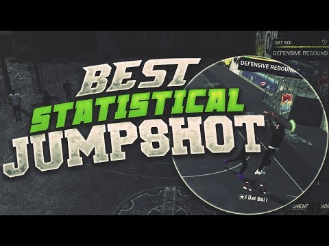 THE BEST STATISTICAL JUMPSHOT OUT RIGHT NOW - TOO MANY GREENS - NBA 2K18