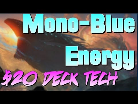 Mtg Budget Deck Tech: $20 Mono-Blue Energy in Kaladesh Standard!