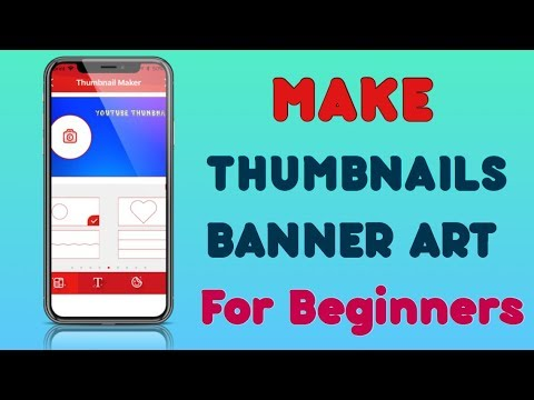 How To Make YouTube Thumbnail and Banner Art on iOS 8 & Later (iPhone, iPad & iPod)