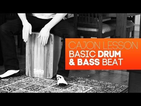 Cajon Tutorial: Drum & Bass Beat Lesson