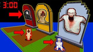 minecraft pe do not choose wrong grave scp-096 scp-173 scp-049 bigfoot pocket edition secret base