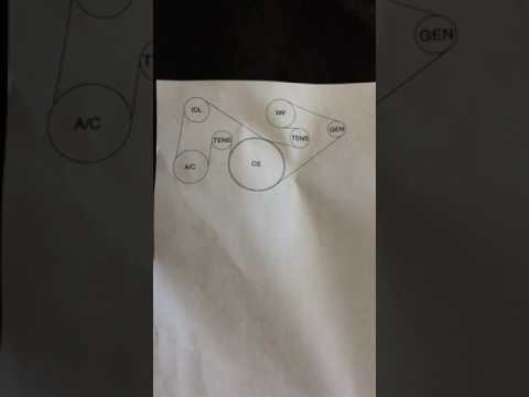 2011 f150 5.0 belt diagram