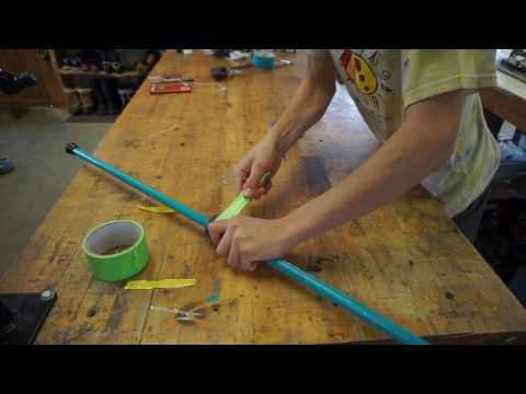 How to make a toy bow and arrow for kids part 1