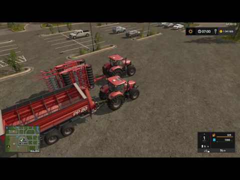 Farming Simulator 17 Best way to store seeds and fertilizer