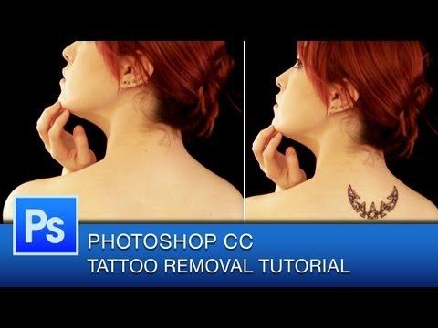 Photoshop CC Tutorial How to Remove Tattoos | Photoshop CC