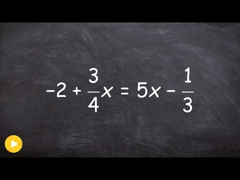 Solve an equation for x by clearing fractions with multiple steps