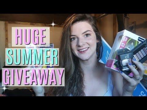 (OPEN) HUGE GIVEAWAY 2018! | Summer/Makeup Giveaway!