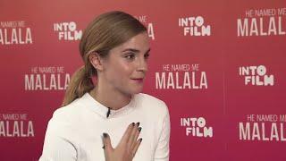 Emma Watson & Malala Interview - Into Film Festival Q&A