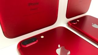 Unboxing the New Apple RED iPhone 7 and 7 Plus!