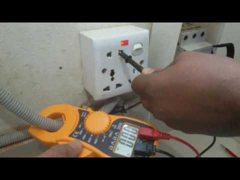 How test three phase line   How to make three phase to single phase  