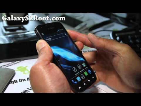 How to Install ClockworkMod Touch on T-Mobile Galaxy S2 SGH-T989!