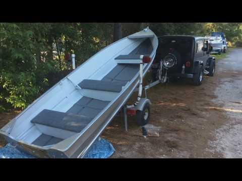 1966 15ft. Springbok aluminum boat restoration