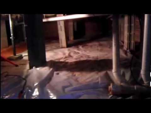 How to install a vapor barrier