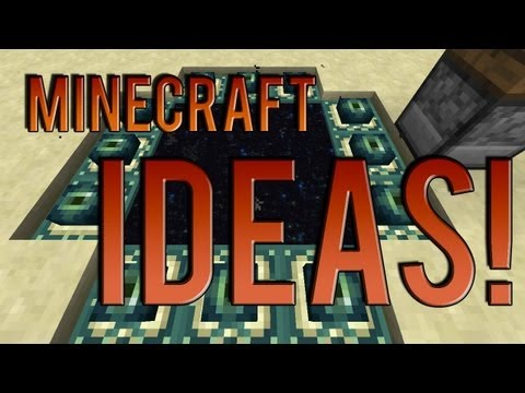 Minecraft Ideas | Crafting End Portal Frames, Calamari!