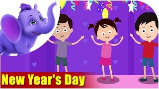 Festival Songs for Kids - New Year's Day Song