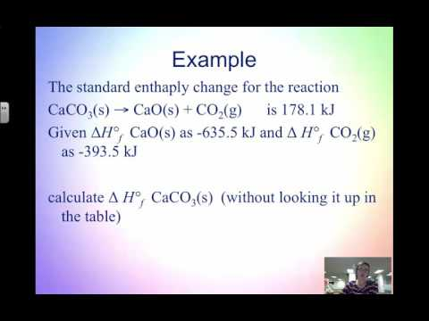 Video 2.5 Heat of Formation and Bond Enthalpy