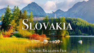 Slovakia 4K - Scenic Relaxation Film With Calming Music