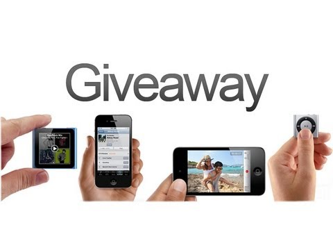 All Things Apple Giveaway: iPhone 4S, iPod Touch, iPod Nano And iPod Shuffle