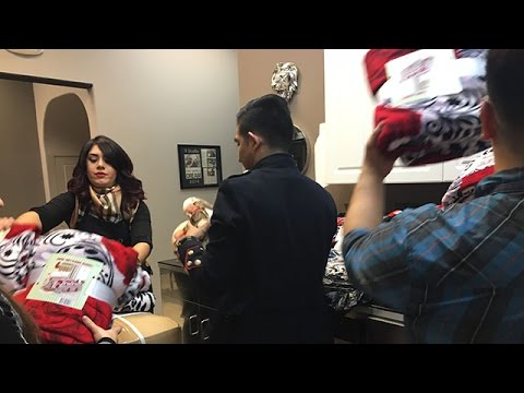 KCOY 12: Good Samaritans Help Santa Maria Homeless Keep Warm This Winter