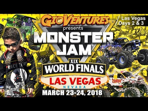 Monster Jam World Finals XIX 2018 - Entire Event - Freestyle - Racing - Pit Party by GioVentures