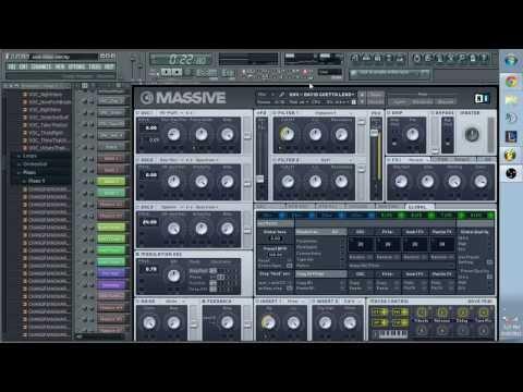 NI Massive Synth Tutorial: How to make a David Guetta or Calvin Harris style lead in NI Massive