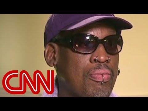 Was Rodman drunk during interview?